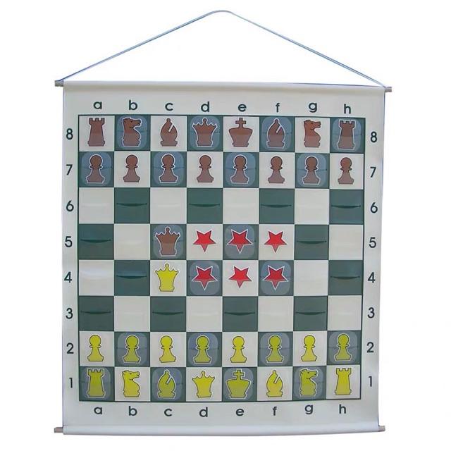 Bộ cờ treo cho giáo viên giảng dạy cờ vua loại 1