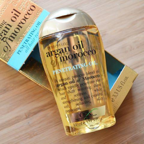 Dầu Dưỡng Tóc OGX Argan Oil Of Morocco Penetrating Oil All Hair Types 1