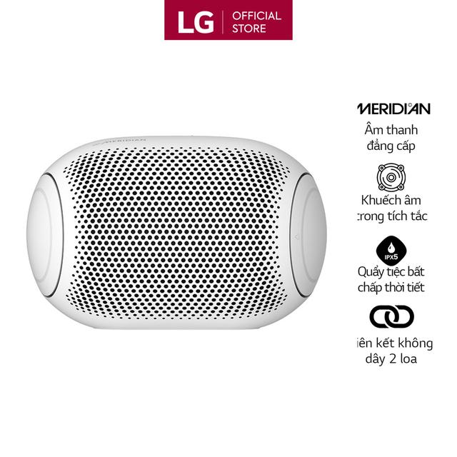 Loa Bluetooth Di Động LG Xboomgo PL2W - Hàng Chính Hãng - Màu Trắng