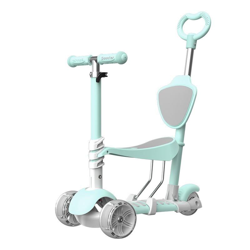 Xe Scooter 5 trong 1 Hàng Loại 1 cho trẻ em từ 1 đến 8 tuổi – Hàng chuẩn Chất Lượng Cao