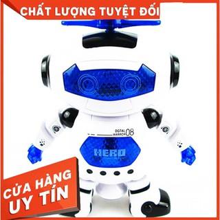 [2020] Robot thông minh nhảy múa theo nhạc ROBO (Xanh) – CÓ BẢO HÀNH