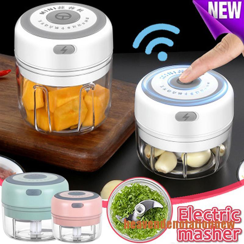 Hdvn Electric Mini Food Garlic Vegetable Chopper Meat Grinder Crusher Fruit Onion Aiment