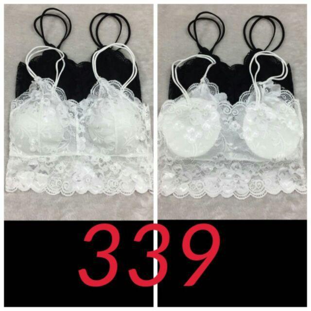 (RẺ VÔ ĐỊCH) Áo bra ren hai dây cực hot 339