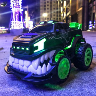 LL 2.4G Stunt Car 360 Degree Upright Rotary Remote Control Toy Devil Tooth Off-Road Electric @VN