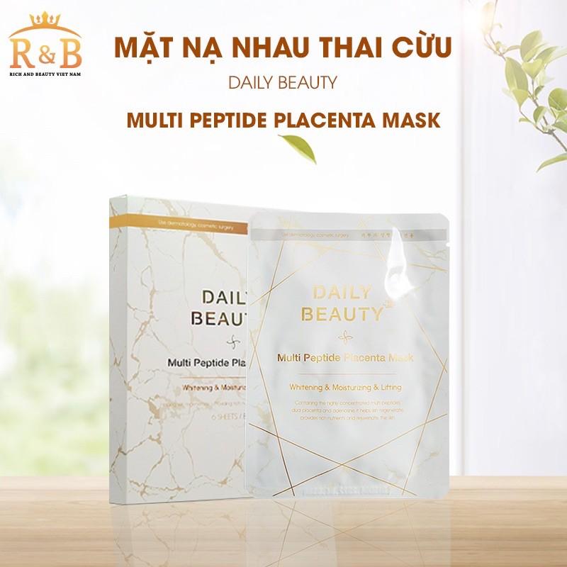 Mặt Nạ Nhau Thai Cừu Multi Peptide Placenta Mask