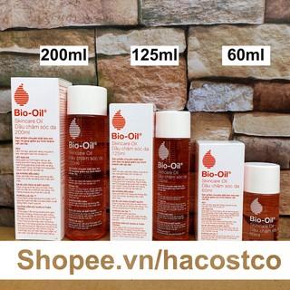 Dầu chăm sóc da Bio-Oil Skincare Oil 200ml , 125ml , 60ml Nam Phi - Bio Oil làm mờ sẹo và giảm rạn da thumbnail