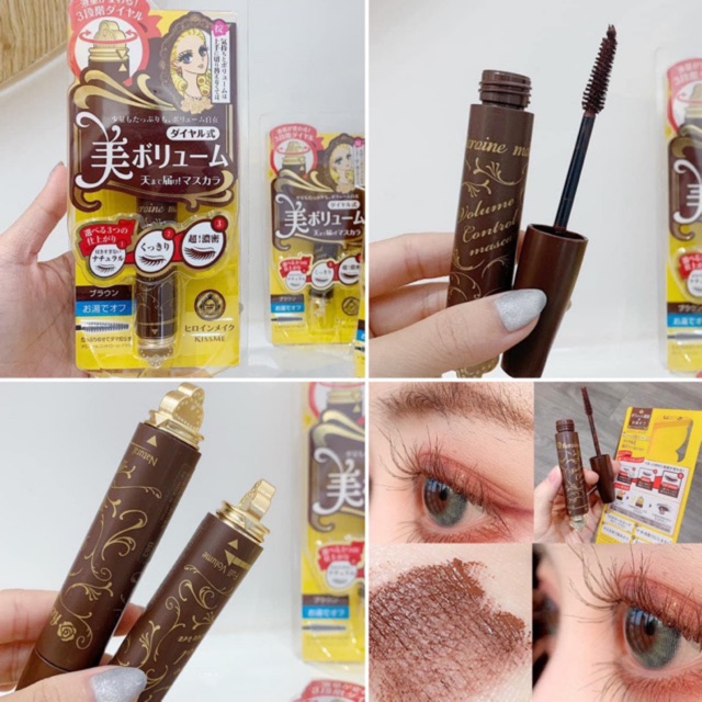 MASCARA KISS ME HEROINE MAKE VOLUME CONTROL ( MÀU NÂU )