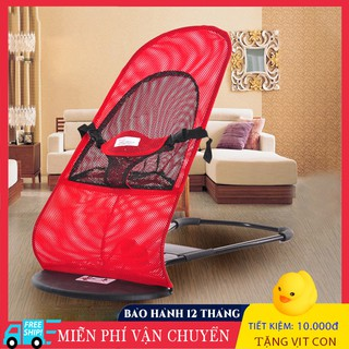 Ghế nhún cho bé, ghế rung cho be đa năng chân chư A thumbnail