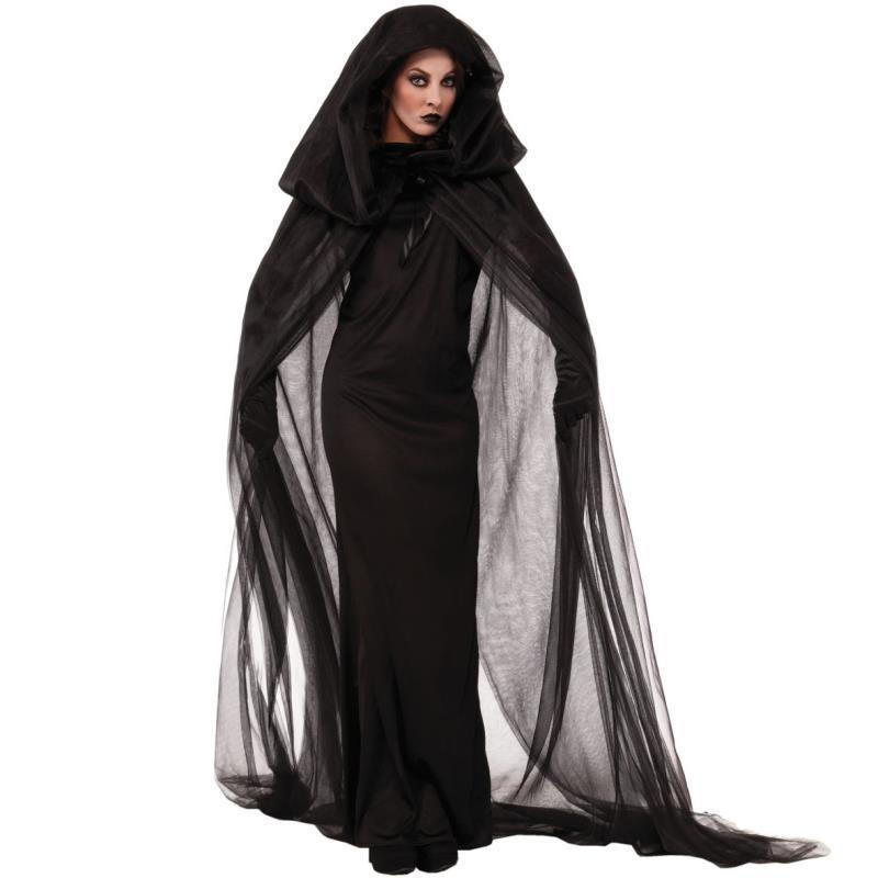 Trang Phục Hóa Trang Halloween Cô Dâu Ma Cà Rồng Cho Nữ