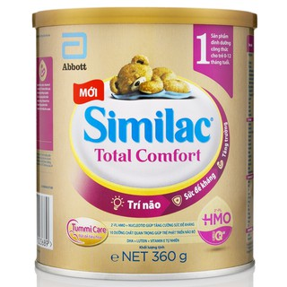 [Date mới 2023] Sữa bột Similac Total Comfort 1 360G (HMO)