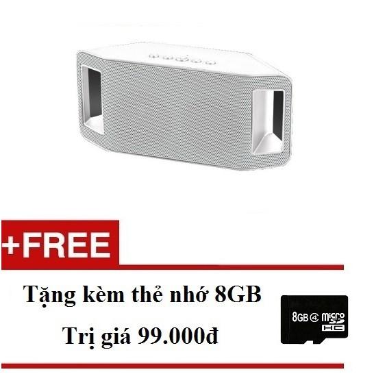 Loa bluetooth WSTER WS-Y66B (Trắng) + Tặng 1 thẻ nhớ microSD 8GB - 2491664 , 110019366 , 322_110019366 , 305000 , Loa-bluetooth-WSTER-WS-Y66B-Trang-Tang-1-the-nho-microSD-8GB-322_110019366 , shopee.vn , Loa bluetooth WSTER WS-Y66B (Trắng) + Tặng 1 thẻ nhớ microSD 8GB