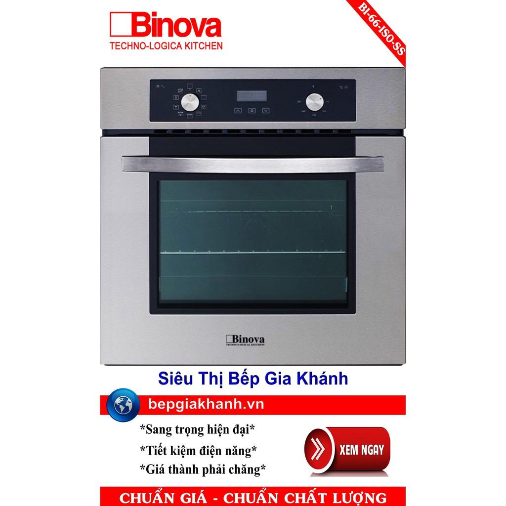 Lò nướng điện đa năng Binova BI-66-ISO-SS, lò nướng điện, lò nướng bánh, lò nướng thủy tinh, lò nướng bánh mì, lo nuong