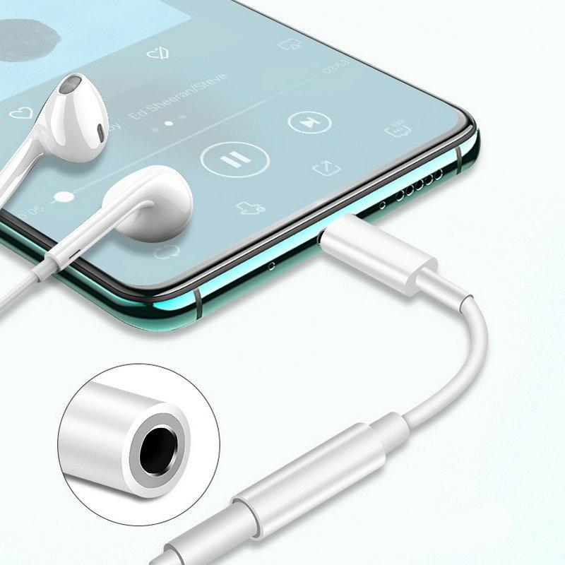 Cáp Chuyển Đổi Âm Thanh Jack 3.5mm Cho Iphone