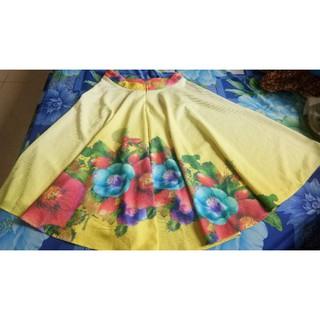 Chân váy xòe hoa đẹp