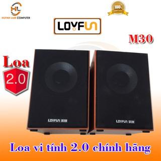 Loa vi tính-Loa vi tính 2.0 LOYFUN M30 nghe lớn sôi động