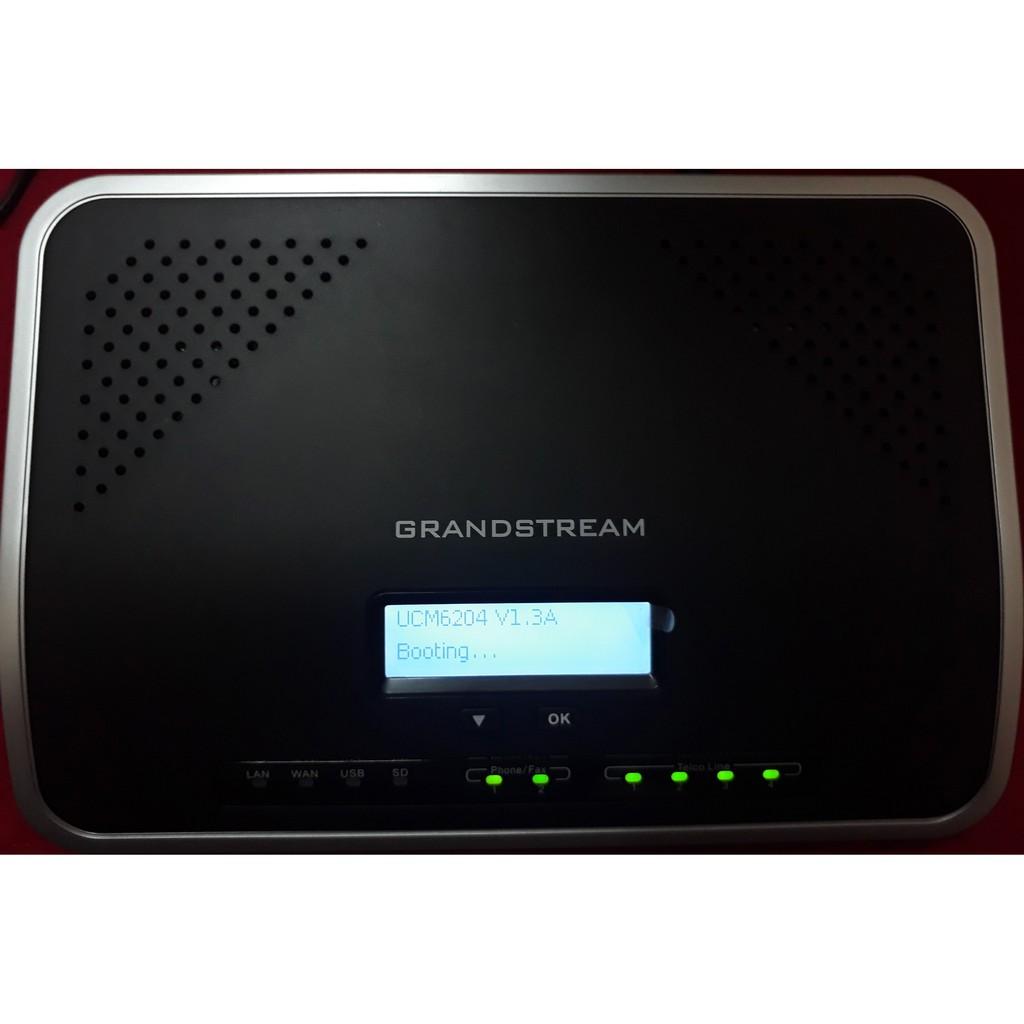 Tổng đài IP Grandstream UCM6204