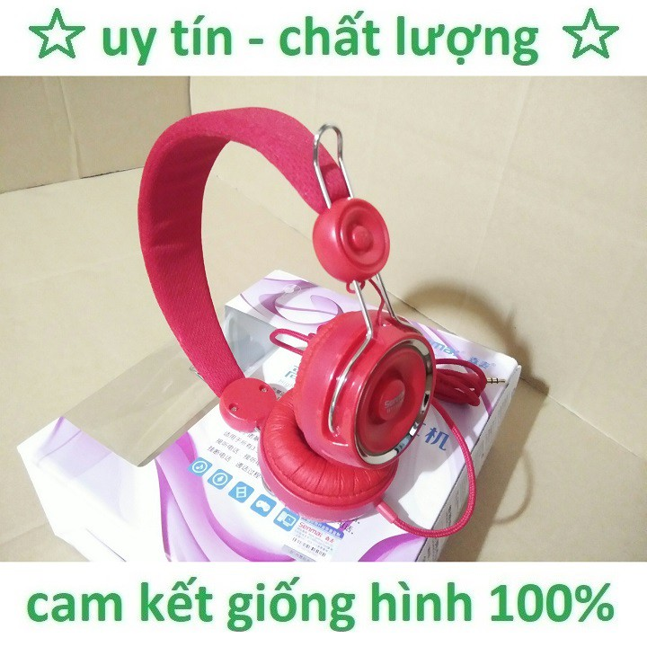 Headphone Senmai Có Mic IP162N Cao Cấp
