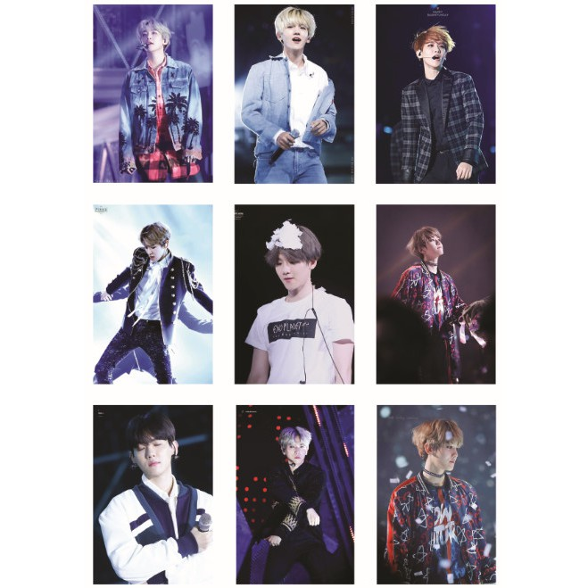 Lomo card ảnh thành viên EXO - BAEKHYUN Full 54 ảnh