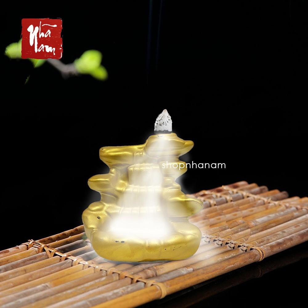 [Bán sỉ] Thác khói trầm hương tặng 1 nụ trầm thác nước 5 tầng
