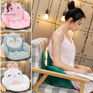 ETXK Indoor Plush Cushion Floor Seat Cushion Pillows Rabbit Giraffe Shape For Adults Kids