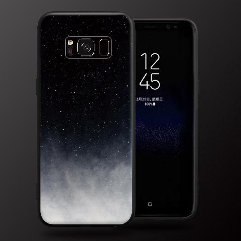 [FREESHIP 99K] Ốp lưng bầu trời sao ban đêm huyền ảo cho Samsung S6 S7 S8 S9 Edge Plus Note