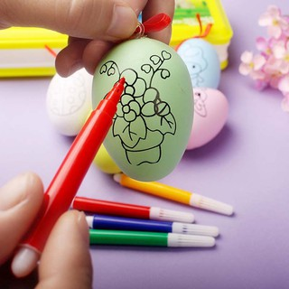 Nhận Ngay Khuyến Mãi Khi Mua -Bộ 10 quả trứng tô màu cho bé B1105 – Kèm bút màuShip Toàn Quốc