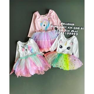 dancewear & costumes unicorn dress ( ko kèm áo choàng)
