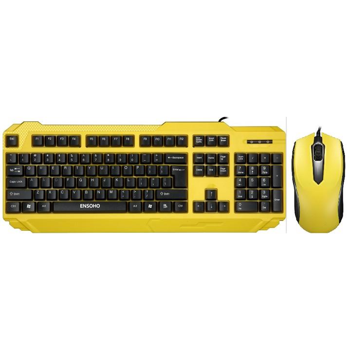 Bộ bàn phím chuột Ensoho S50 R,Y, W - 1 đổi 1 trong 12 tháng