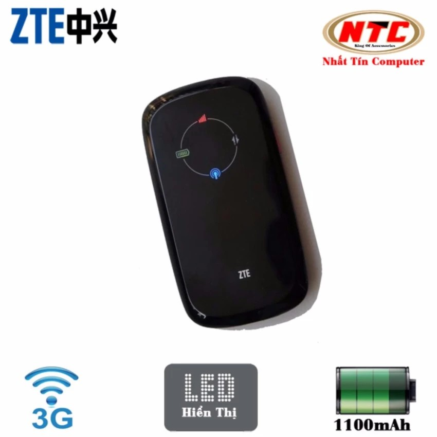 Phát Wifi Từ Sim 3G 4G ZTE MF30 - BH 6 tháng
