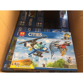 Đồ chơi lắp rắp Lego Máy Bay Trượt Thăng bela Lari 11207