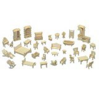 Bộ đồ chơi mô hình lắp ghép gỗ 3D. – qn6y7f
