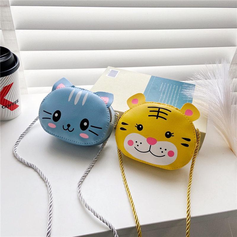 Túi đeo chéo cho bé gái hình động vật hoạt hình dễ thương, túi xách cho bé gái, túi cho bé đi chơi, du lịch