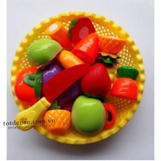 giỏ cắt hoa quả