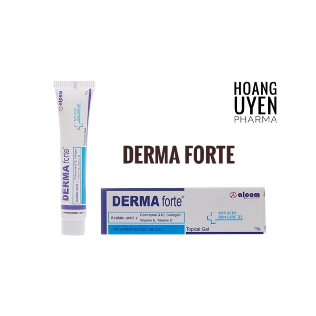 Gel Derma Forte - Tube 15gr
