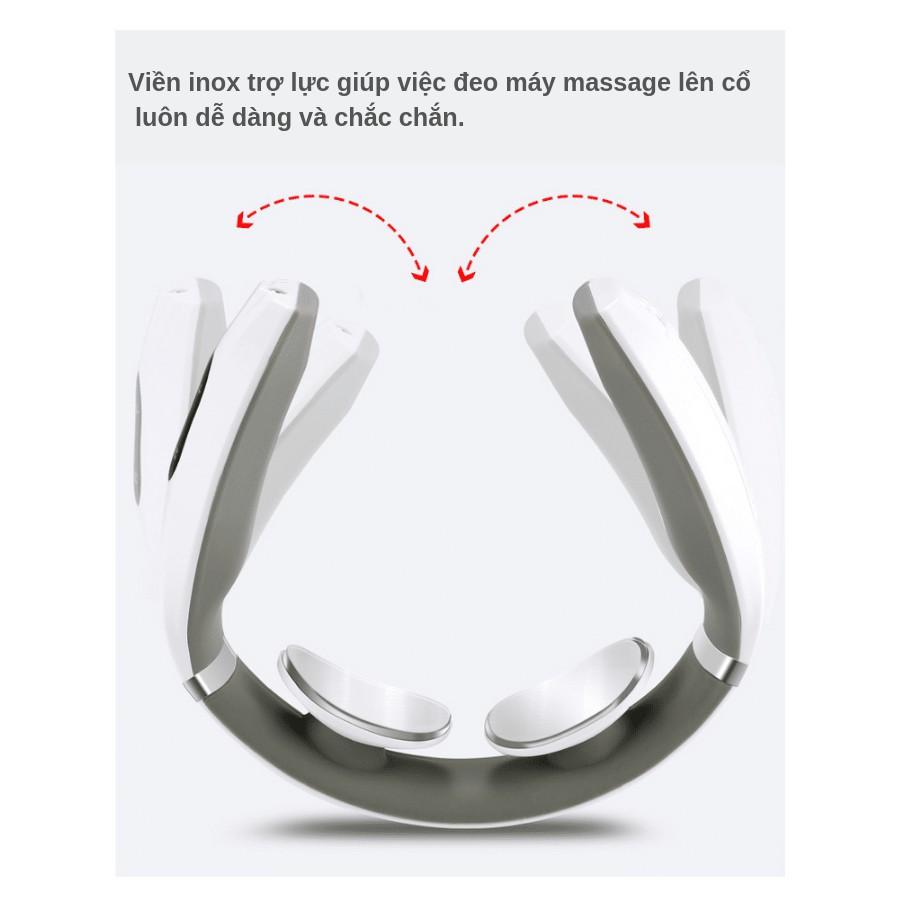 Máy massage cổ vai gáy Ailuen ALE-10 chính hãng có bảo hành 1 đổi 1