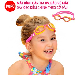 Kính bơi trẻ em chính hãng POPO 1149 mắt kiếng bơi cho bé trên 3 tuổi cản tia UV bảo vệ mắt sử dụng khi bơi lội, tập bơi thumbnail