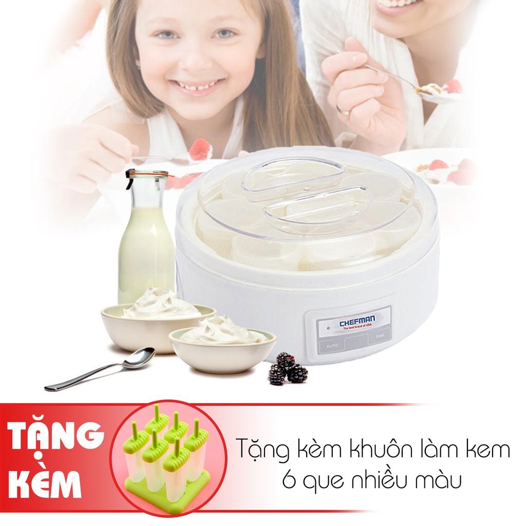 Máy Làm Sữa Chua 8 Cốc Nhựa tặng bộ khuôn 6 que kem - 2701504 , 1274754270 , 322_1274754270 , 129000 , May-Lam-Sua-Chua-8-Coc-Nhua-tang-bo-khuon-6-que-kem-322_1274754270 , shopee.vn , Máy Làm Sữa Chua 8 Cốc Nhựa tặng bộ khuôn 6 que kem