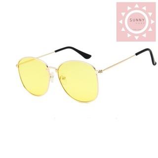 ShopSunny Kính Mắt Nam Nữ Siêu Đẹp 2019 – Kính Mát Thời Trang Đi Biển – K004 ( Vàng ) Sunny
