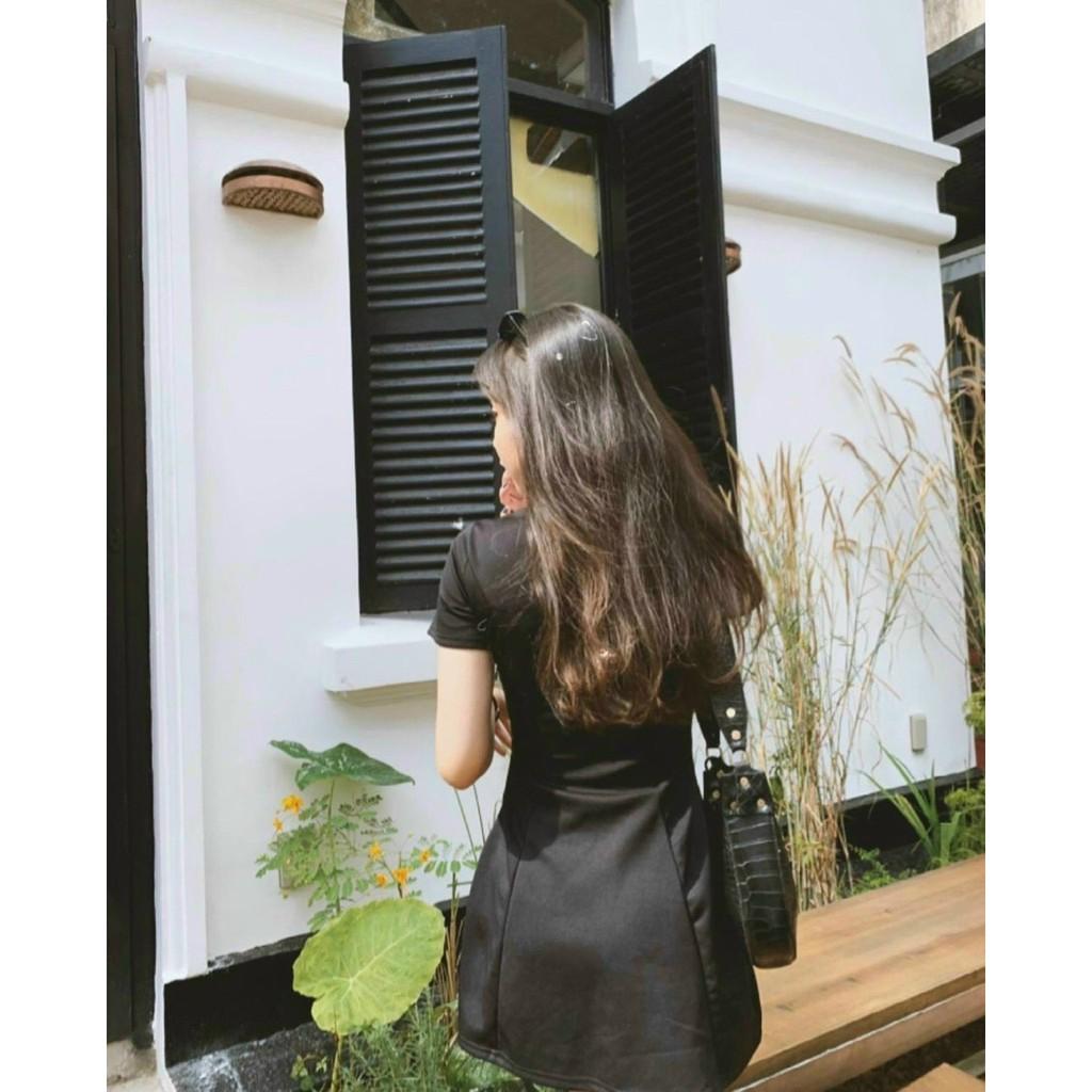 Mặc gì đẹp: Siêu xinh với Váy Polo Nữ SANMAY Đầm Công Sở Trẻ Trung Thun Suông Ôm Body Thiết Kế Cao Cấp Đi Chơi Dự Tiệc Cưới Đẹp Sang Trọng VD024