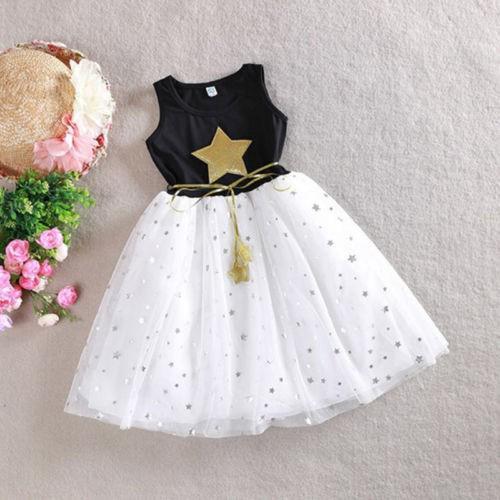 Đầm xoè Tutu sát nách phong cách công chúa cho bé gái