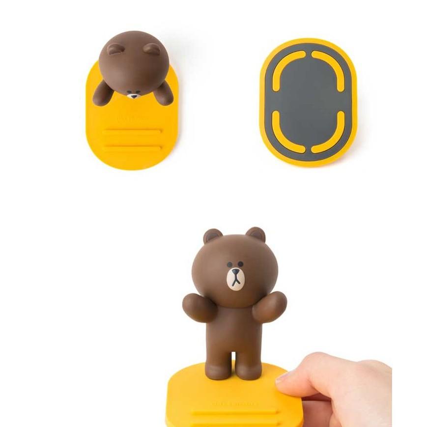 Giá đỡ điện thoại Thỏ cony, Gấu Brown, Vịt vàng siêu đáng yêu ( Giao hình ngẫu nhiên )