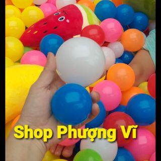 Túi 50 quả bóng nhựa Việt Nam phi 5cm cho bé yêu