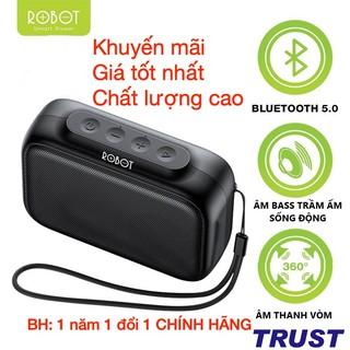 Giá Tốt-ROBOT Loa Bluetooth Mini 5.0 Hỗ trợ thẻ Micro SD & USB -RB100- BH 1 năm 1 đổi 1 CHÍNH HÃNG