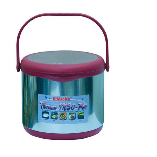 Nồi ủ Thermo chất liệu Inox cao cấp dung tích 5Lít KHALUCKHOME KL-710 (Màu ngẫu nhiên) [nhập mã HOME - 2947262 , 1043662503 , 322_1043662503 , 929000 , Noi-u-Thermo-chat-lieu-Inox-cao-cap-dung-tich-5Lit-KHALUCKHOME-KL-710-Mau-ngau-nhien-nhap-ma-HOME-322_1043662503 , shopee.vn , Nồi ủ Thermo chất liệu Inox cao cấp dung tích 5Lít KHALUCKHOME KL-710 (Màu