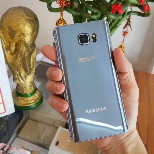 Điện Thoại Galaxy Note 5 , Qte , Màu titanium , Bh 6t