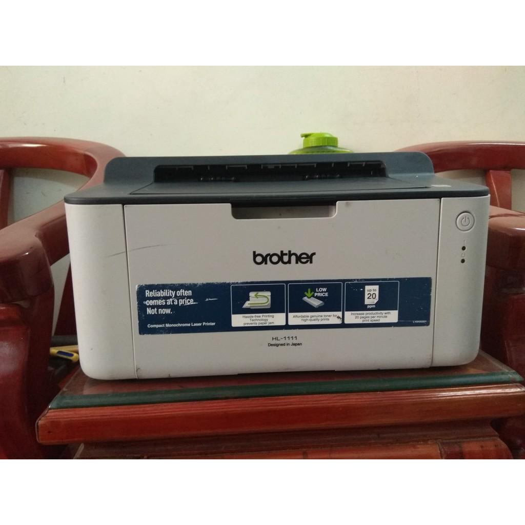 Máy in Brother HL-1111 like new, máy in laser đen trắng giá rẻ TC VIỆT