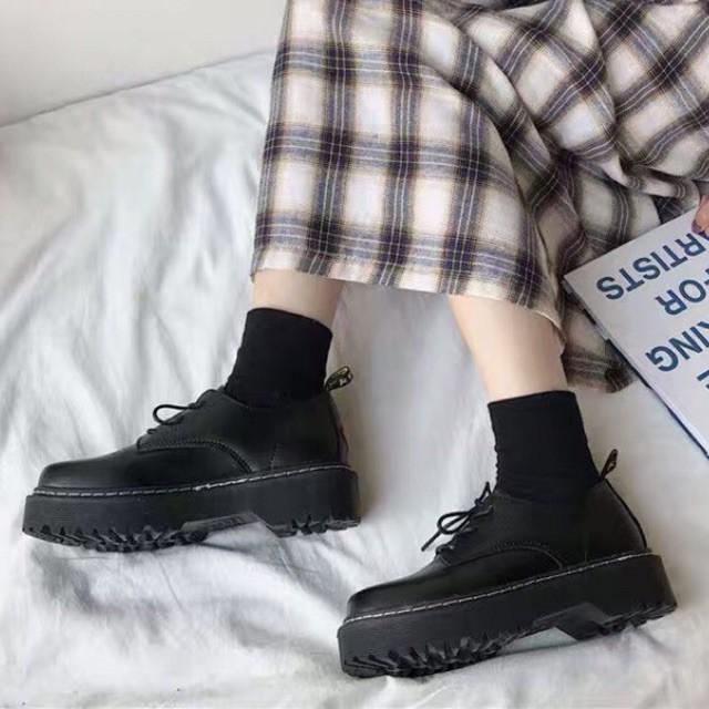 sẵn\ giày da oxford 😎 NHẮN BÁO SIZE lấy 😝 giày thấp cổ | (ẢNH THẬT KHÁCH ĐI) giá rẻ