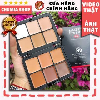 Bảng kem nền + khối MAKE UP FOR EVER Ultra HD Foundation Palette creme 12 Colors trang điểm chuyên nghiệp - chumia thumbnail
