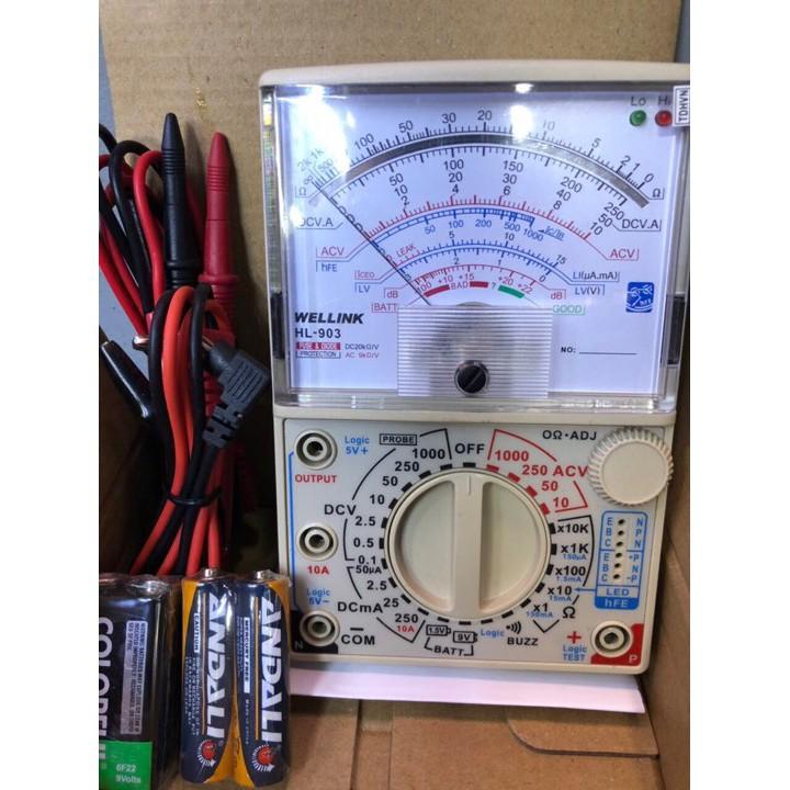 Đồng hồ vạn năng Wellink HL-903 - 3431842 , 816469481 , 322_816469481 , 400000 , Dong-ho-van-nang-Wellink-HL-903-322_816469481 , shopee.vn , Đồng hồ vạn năng Wellink HL-903