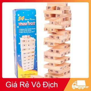 [GIẢM GIÁ SỐC] bộ đồ chơi rút gỗ loại to 23 cm siêu đẹp